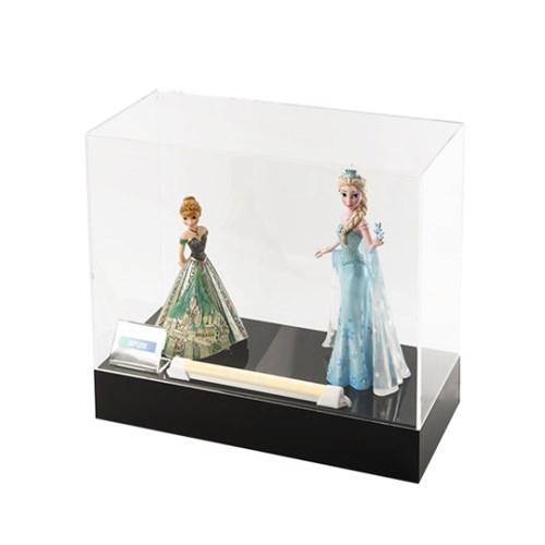 겨울왕국 디즈니 스태츄용 아크릴 상자 h330bbl