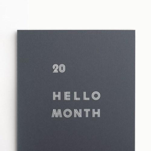 (2020 날짜형) 2020 B5 안녕달 먼슬리플래너