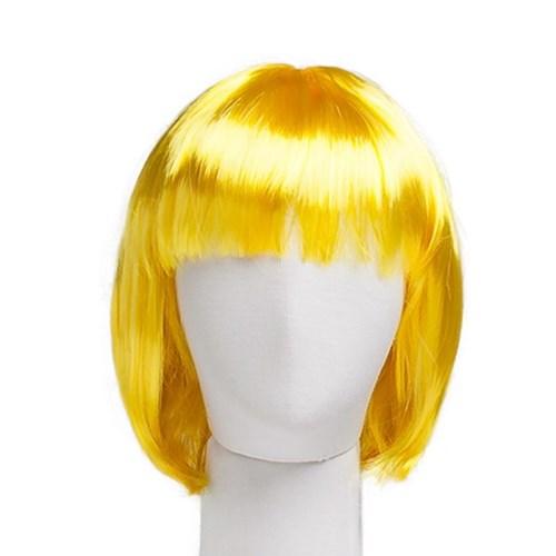 단발머리가발 옐로우