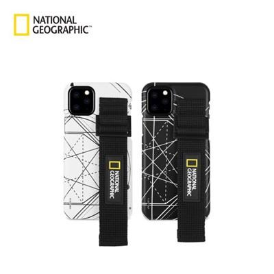 내셔널지오그래픽 스트랩 슬림핏 로고 패치 케이스 아이폰