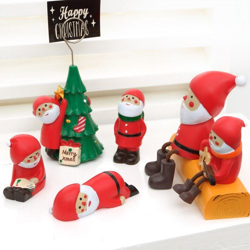 비오스 미니어처소품 크리스마스 산타 6종세트