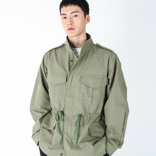 (UNISEX)Safari Multi Field Jacket(KHAKI)