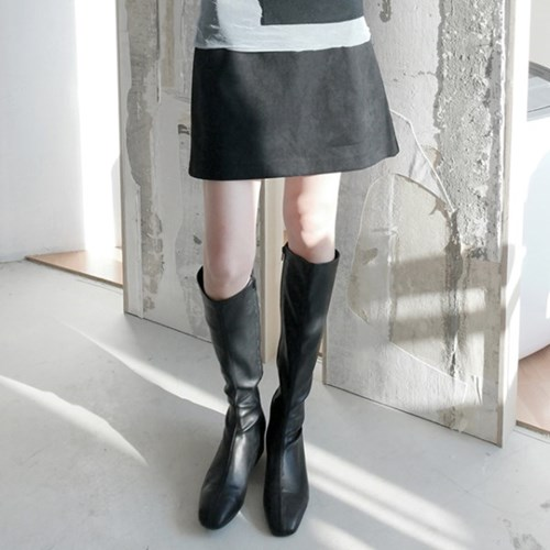 suede mini skirts (3colors)_(1368111)