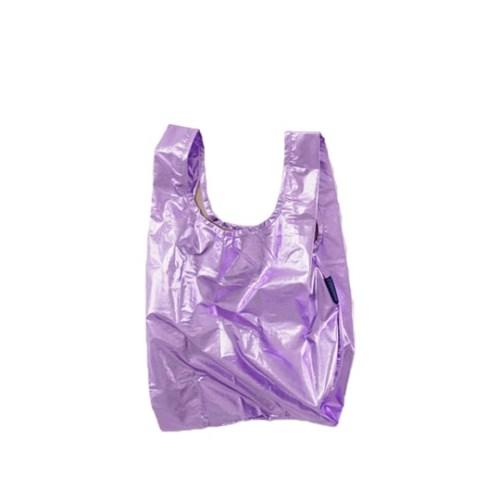 [바쿠백] 소형 베이비 에코백 장바구니 Lilac Metallic_(1797854)