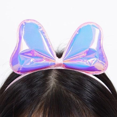 홀로그램 리본머리띠