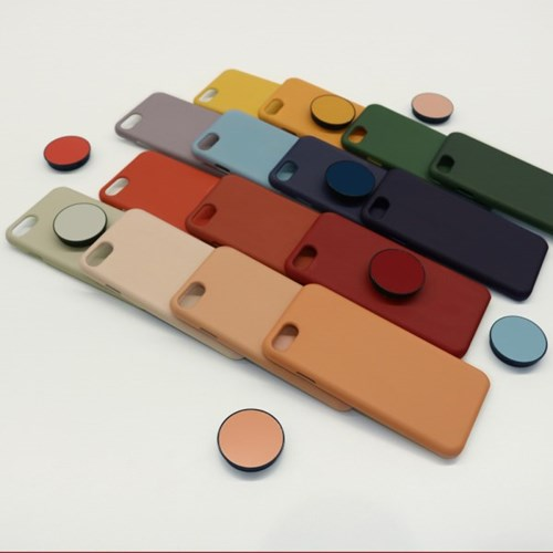 무지컬러케이스ver.2 아이폰 슬라이드케이스