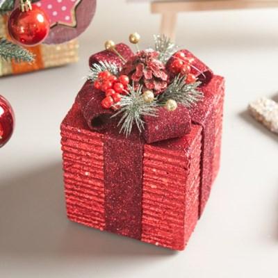플레르 선물상자 12cm 크리스마스 장식 트리 TROMCG_(1577563)