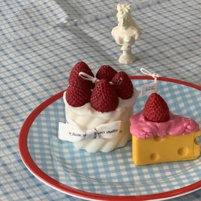케이크 캔들 4scent 3color