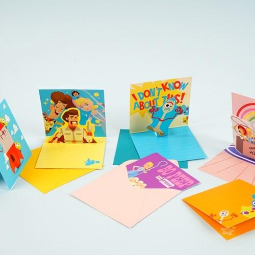 토이스토리4 팝업카드
