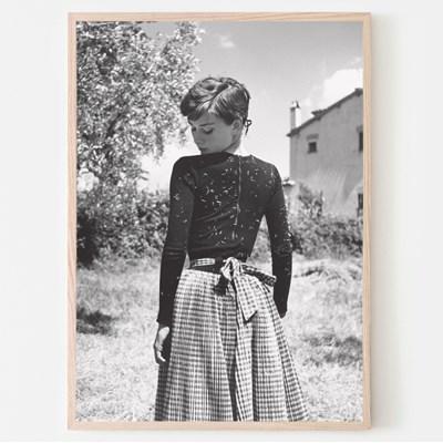 1955 햅번 사진포스터
