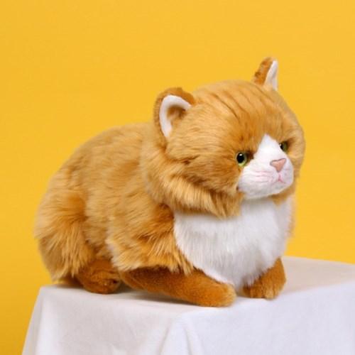 이젠돌스 위더펫 리얼 고양이 인형 페르시안(브라운)_(1427252)