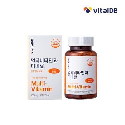 바이탈디비 멀티비타민과 미네랄 1500mg X 90정_(1248232)