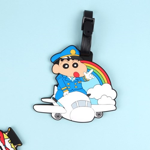 짱구 러버네임택(비행기)