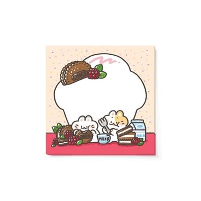[도톨도톨] 컵케이크 도톨 메모지(M)