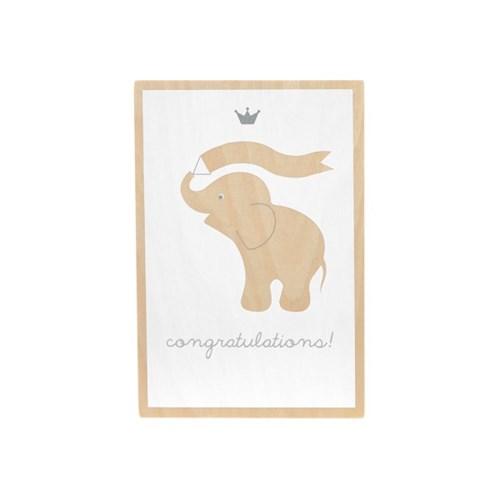 [BAMBAM] 밤밤 포스트 카드_코끼리_(1878655)