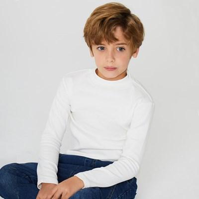 하이넥 기본 아동 티셔츠 IB4EL060U