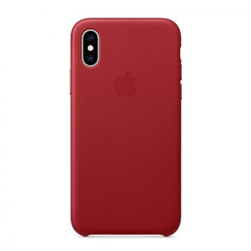 iPhone XS Max 가죽 케이스 - 레드 [MRWK2FE/A]
