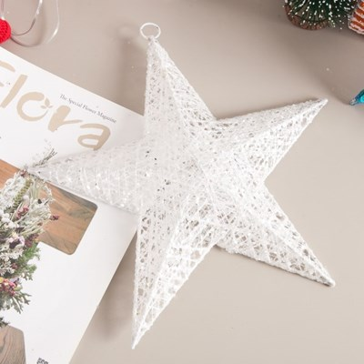 철재별 30cm 크리스마스 장식 소품 트리 별 TROMCG_(1593124)