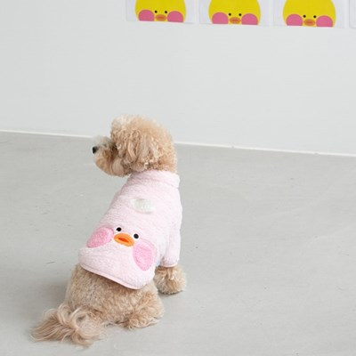 바잇미 빵빵덕 보아후리스 집업자켓 - 핑크