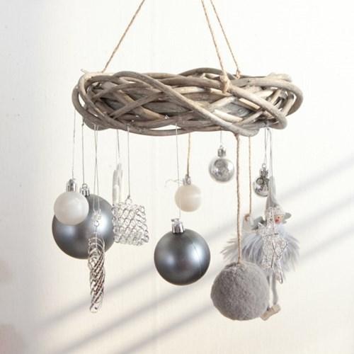 파스텔천사샹들리에 25cmP 크리스마스 장식 TRWGHM_(1594207)