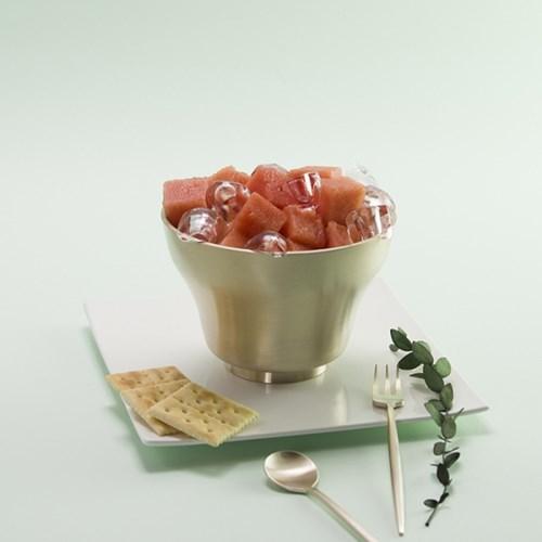 한놋 유기 모던쉐입 빙수기 유기그릇 놋그릇