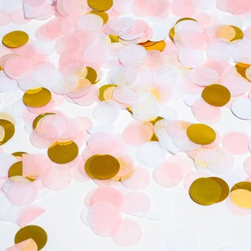 버블컨페티 꽃가루 [핑크골드]_(11866940)