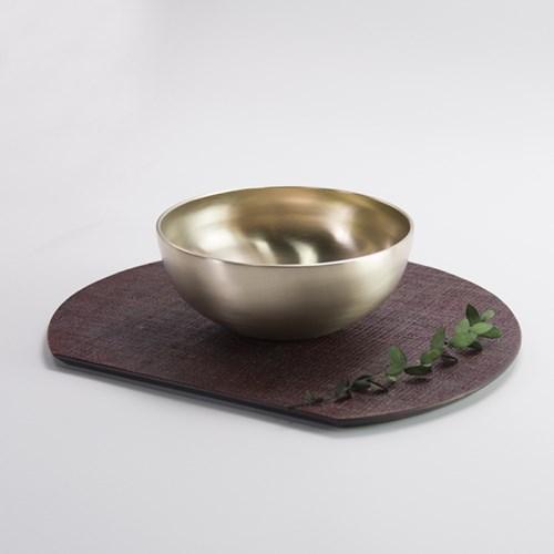 한놋 유기 달면기 유기그릇 놋그릇