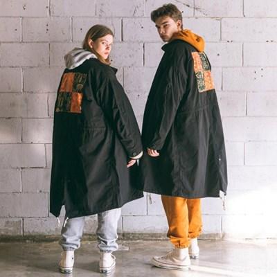 [Matt and Mel x Big Union] Patchwork M65 Parka