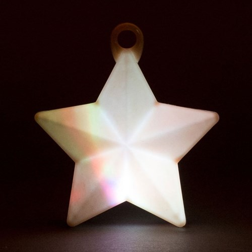 LED 오각별 무게추 [화이트]_(11868418)