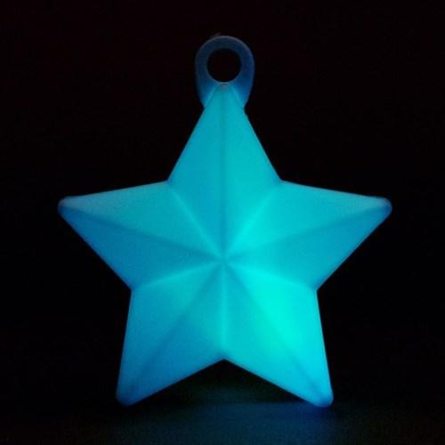 LED 오각별 무게추 [라이트블루]_(11868419)