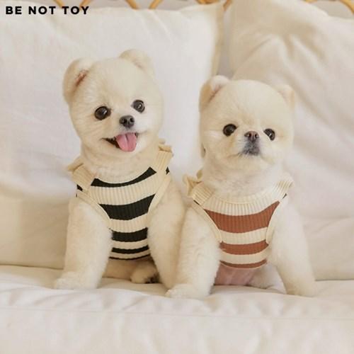 [BE NOT TOY] 허밍 스트라이프 티 / 강아지 애견 의류_(1553336)