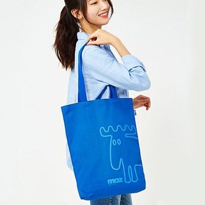 베이직 에코백_블루