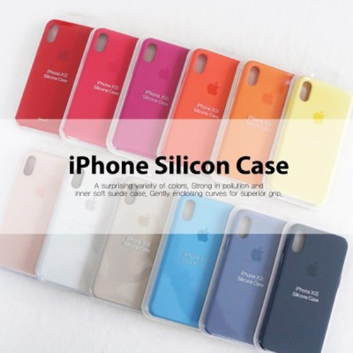 모모_iPhone silicon case_아이폰11/11pro/11MAX