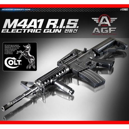 아카데미 M4A1 RIS 엠포 전동건-17407 비비탄총