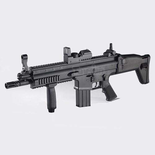 아카데미 스카 전동건 블랙 SCAR 17413 비비탄총