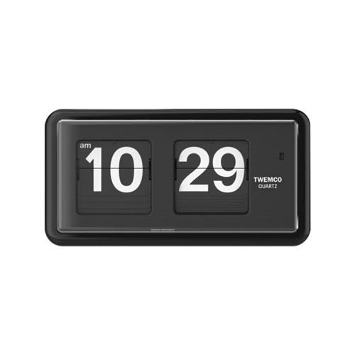 [TWEMCO] QT-30.BK 트웸코 플립시계 (건전지포함) 벽+탁상겸용