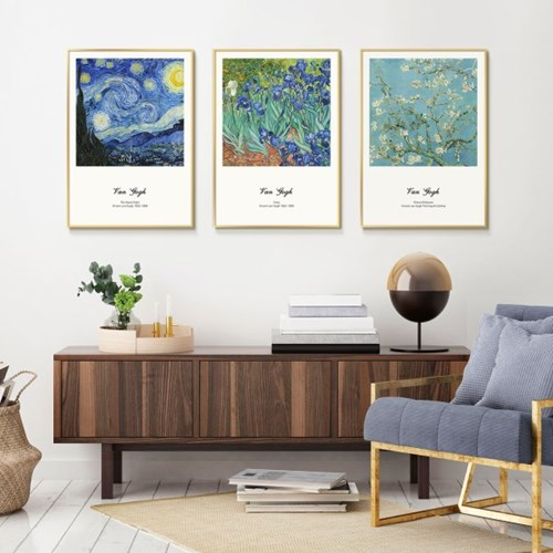 빈센트 반 고흐 인기 작품 20종 명화 인테리어 그림 액자 포스터