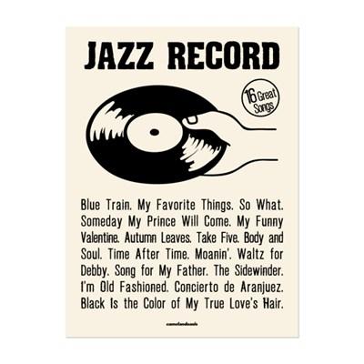 [카멜앤오아시스] 16 Great Songs 재즈 포스터