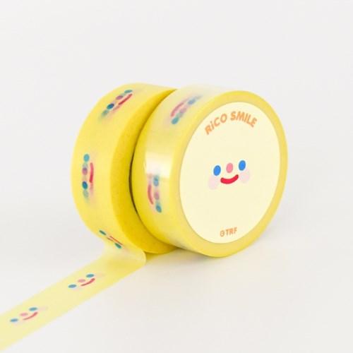 RiCO SMILE YELLOW masking tape