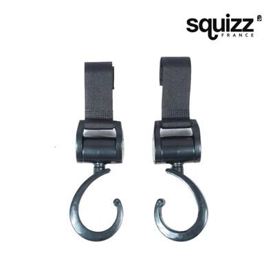 [스퀴즈] Squizz 3 유모차 고리 (블랙)