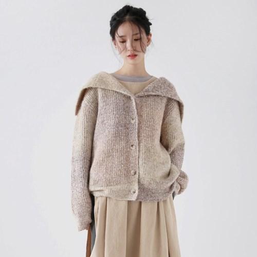 gradation rain knit cardigan (beige)_(1380968)