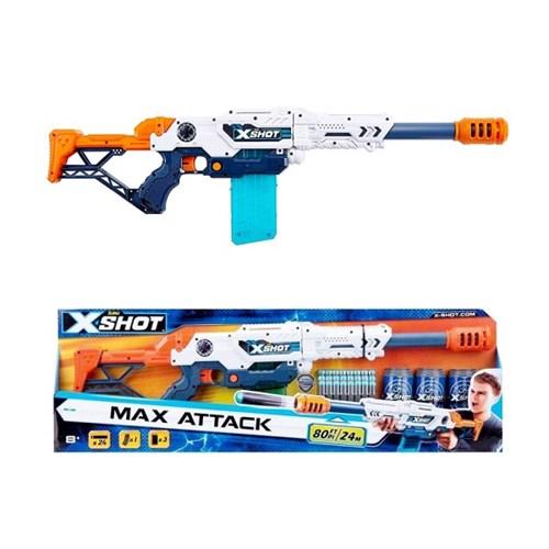 X-SHOT 엑스샷 클립 맥스어택 블래스터 10연발