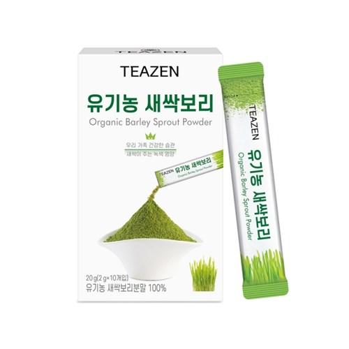 티젠 유기농 새싹보리 분말 10스틱