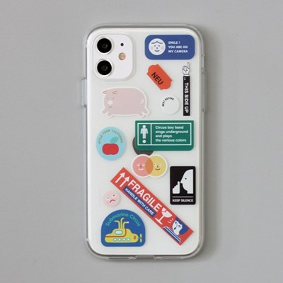 [ 아이폰 11 / 11 Pro ] CBB SC sticker boy_jelly case