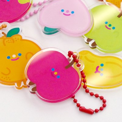 HAPPY FRUITS keyring 9type