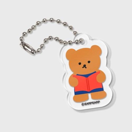 Smart book bear(키링)_(1373192)