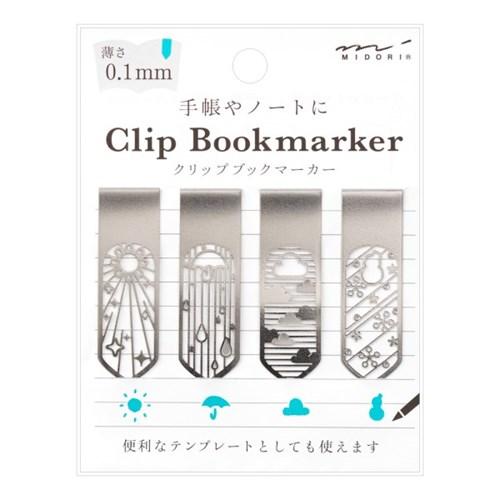 Bookmarker Clip - Weather