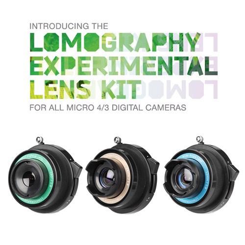 로모그래피 실험 렌즈 킷 (마이크로 포서드 마운트)
