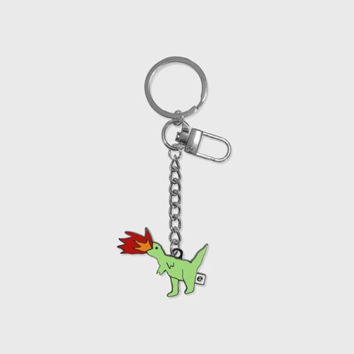 Fire dinosaur(금속 키링)_(1378508)