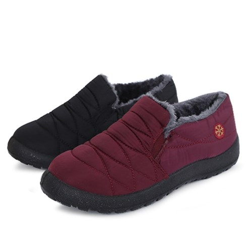 kami et muse Padding fur daily sneakers_KM19w134